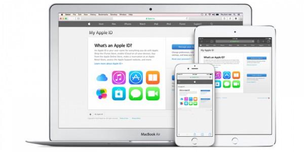 Apple блокирует некоторые Apple ID