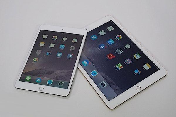 iPad Mini 3 и iPad Air 2