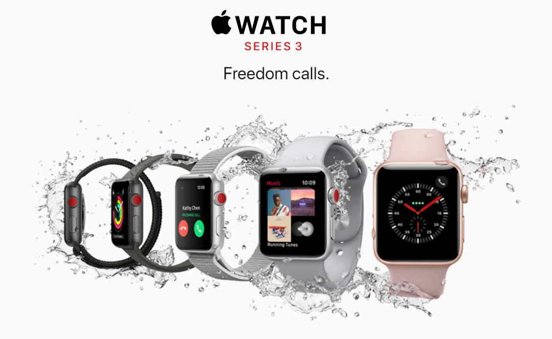 Купить Apple Watch Series 3