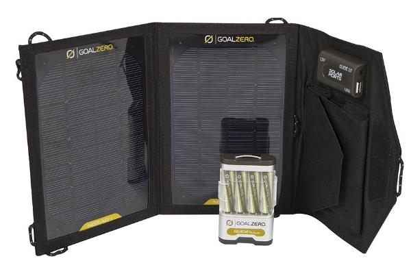 Походный солнечный зарядный комплект Goal Zero Guide 10 Plus (Battery Pack)